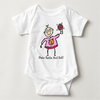 Oh So Cute Baby with Rattle Infant T-Shirt