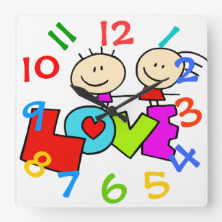 Oh So Cute Children's Room Wall Clock