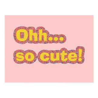 Oh So Cute Postcard