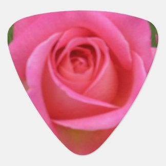 Oh So Pink! Rose Guitar Pick
