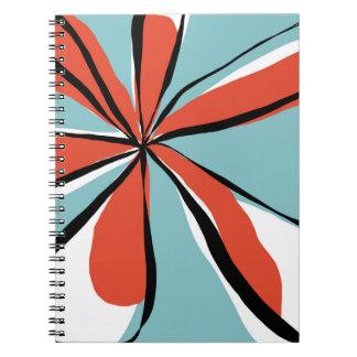 Oh So Pretty - aqua - notebook