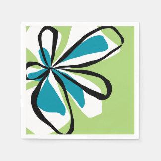 Oh So Pretty - Green-  napkins Disposable Napkins