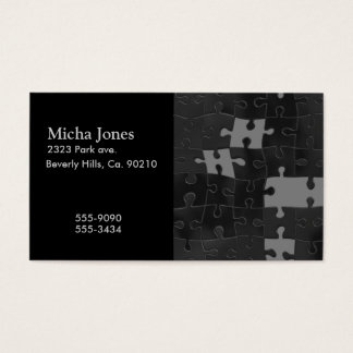 Oh So Puzzling Business Card
