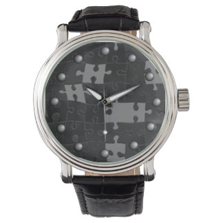 Oh So Puzzling Wrist Watch