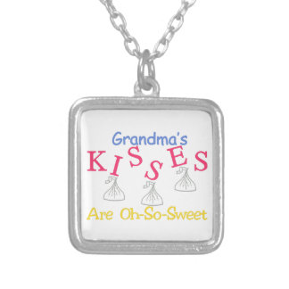 Oh-So-Sweet Silver Plated Necklace