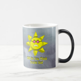 Oh so you think you're hot? SUN(Frown)GlassMORPH Magic Mug