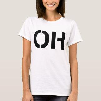 OH Stencil Print T-Shirt