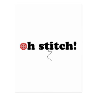 oh stitch! post cards