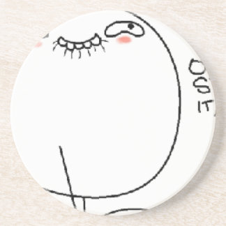 Oh Stop it, You. Comic Face Coaster