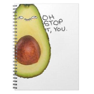 Oh Stop It You - Meme Avocado Notebook