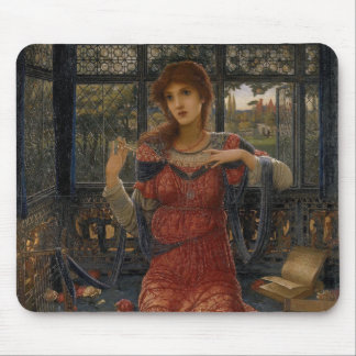 Oh Swallow, Swallow by John Strudwick Mouse Pad