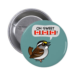 Oh Sweet Canada Pinback Button