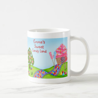 Oh Sweet Candy Land and Cupcakes Classic White Coffee Mug