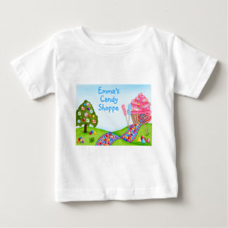 Oh Sweet Candy Land and Cupcakes T Shirt