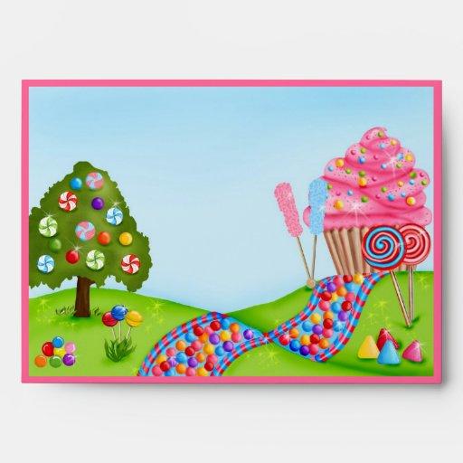 Oh Sweet Candyland Envelope