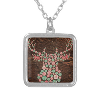 Oh Sweet Deer Silver Plated Necklace