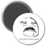 Oh Sweet Jesus Thats Good Rage Face Meme Refrigerator Magnet