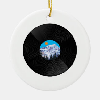 OH SWEET SOUNDS CERAMIC ORNAMENT