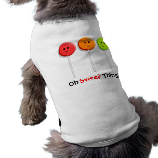 Oh Sweet Thing! - Lollipop Design for Dogs Tee