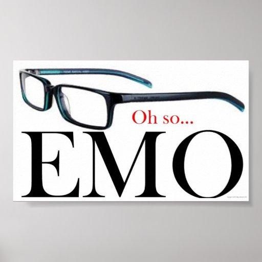 Oh tan Emo Poster