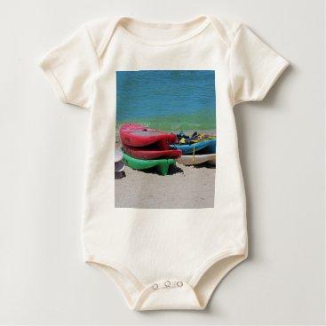 Beach Themed Oh the Beach Life Baby Bodysuit