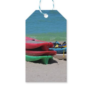 Beach Themed Oh the Beach Life Gift Tags