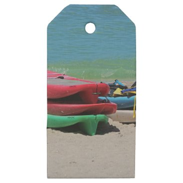 Beach Themed Oh the Beach Life Wooden Gift Tags