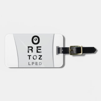 Oh The Eye-Rony Bag Tag