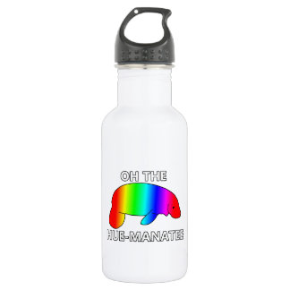 Oh the HUE-MANATEE Stainless Steel Water Bottle
