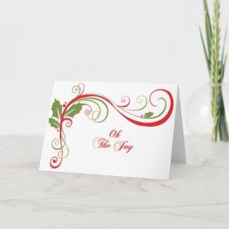 Oh The Joy Christmas Card