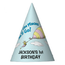 Oh! The Places He'll Go! - First Birthday Party Hat