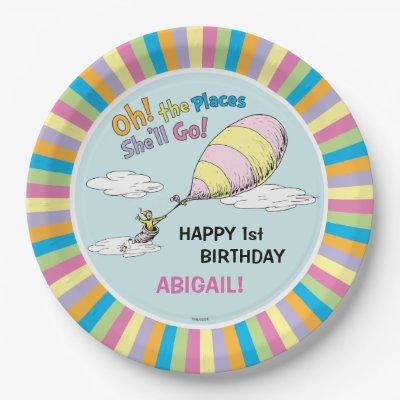 sc 1 st  Zazzle & Dr. Seuss | Oh! The Places You\u0027ll Go! Paper Plate | Zazzle.com