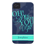 Oh! The places you will go! iPhone 4 Case