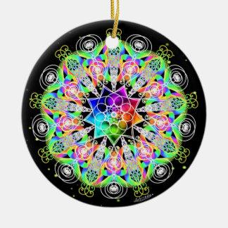 Oh, the Possibilities!/Organic Process Ceramic Ornament