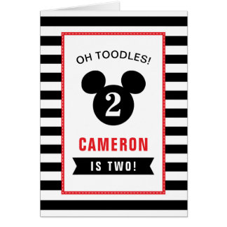 Oh Toodles, it's your Birthday Girl!  Personalize Card