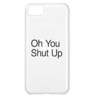 Oh usted cerró para arriba funda para iPhone 5C