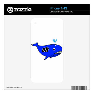 Oh Wale Oh Well Skin For iPhone 4S