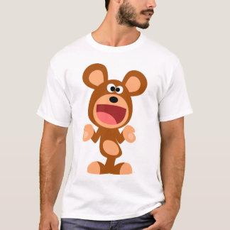 """""""Oh well..."""" Shrugging Cartoon Bear Kids T-Shirt"""