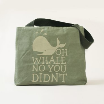 Beach Themed Oh Whale No Tote