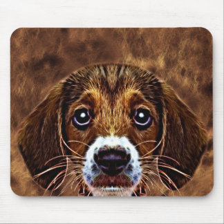 OH! What a Puppy Dog! - Precious Beagle Mouse Pad