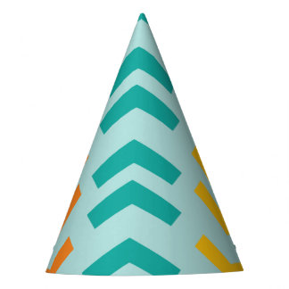 Oh What Fun Bold Arrows Boy Birthday Party Hat
