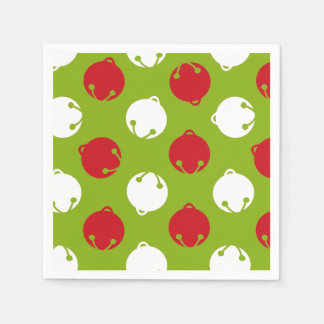 Oh What Fun! Christmas bells paper napkins
