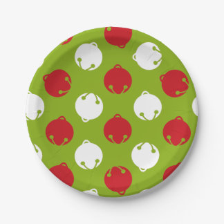 Oh What Fun! Christmas bells paper plates