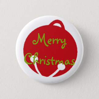 Oh What Fun! Christmas design Pinback Button