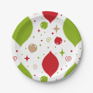Oh What Fun! Christmas paper plates
