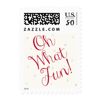 Oh What Fun! Christmas Postage