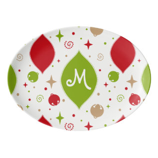 Oh What Fun! Christmas Serving Platter at Zazzle