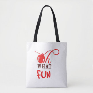 Oh What FUN! Christmas Tote Bag