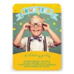 Oh What Fun Confetti Kids Birthday Party Invite Invitations