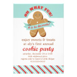 Oh What Fun! - Cookie Exchange Party Personalized Invite